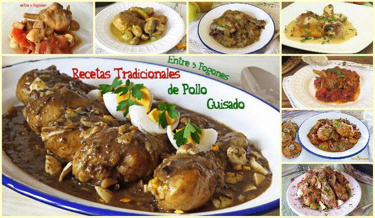 Recetas Tradicionales de Pollo Guisado