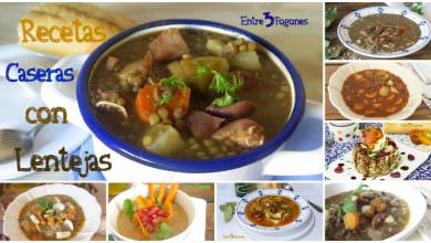 Photo of 11 Recetas Caseras con Lentejas