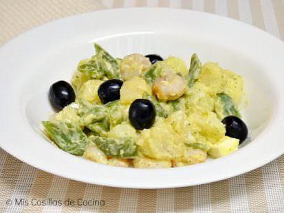 Ensalada de Patatas y Judías Verdes