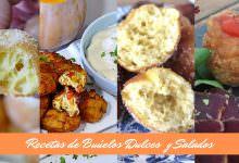Buñuelos Caseros Dulces y Salados