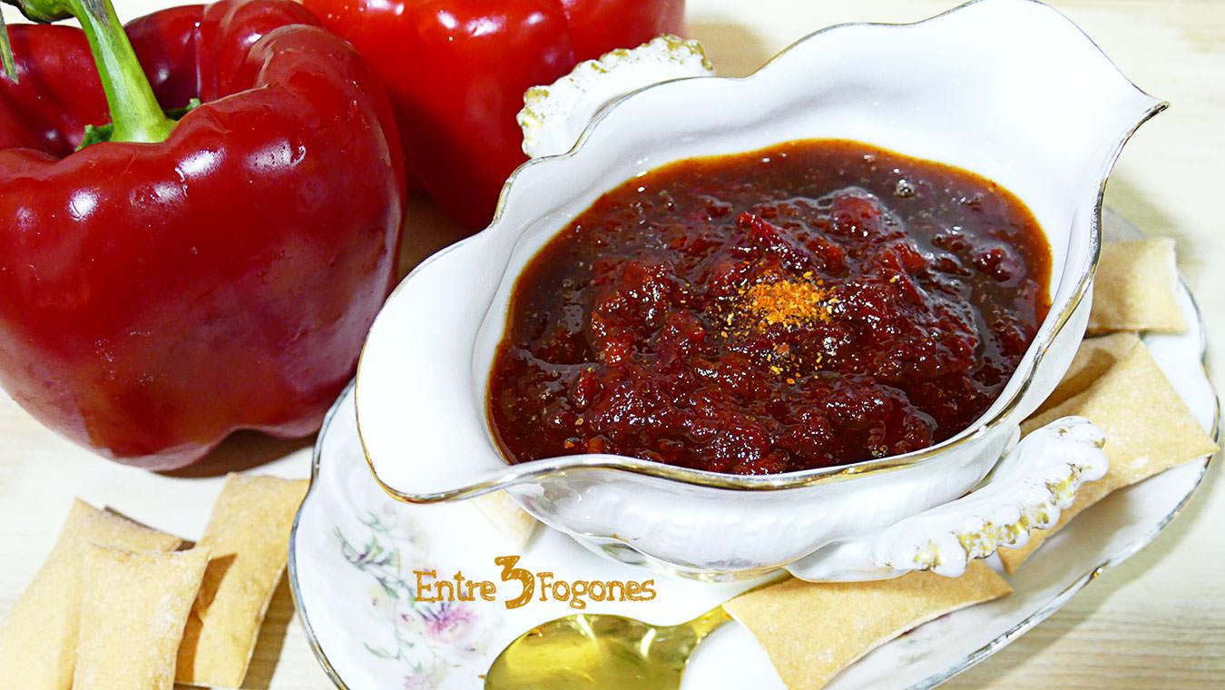 Mermelada de Pimientos Rojos y Pimiento de Espelette