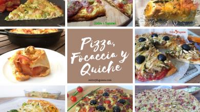 Recetas de Pizza, Focaccia y Quiche