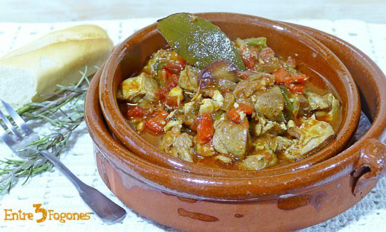 Caldereta Manchega de Cordero con Almendras