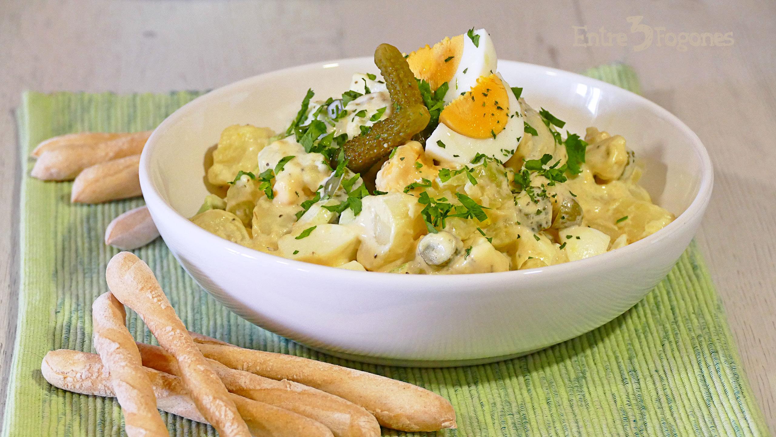Ensalada Americana de Patata y Huevo