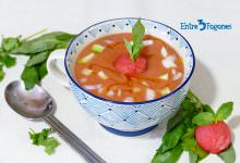 Photo of Gazpacho de Sandía Refrescante y Nutritivo