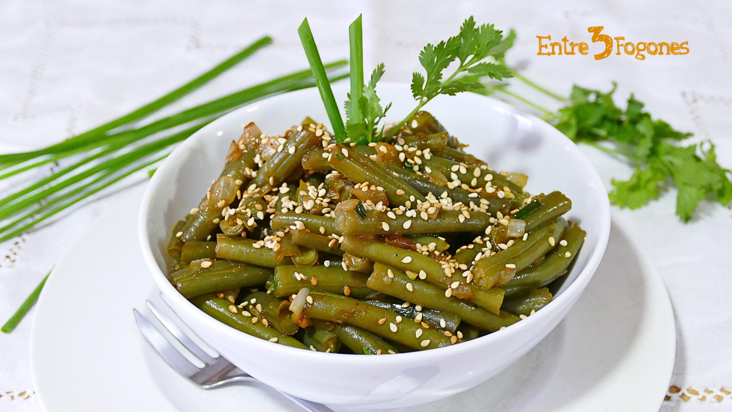 Ensalada de Judías Verdes Vegetariana