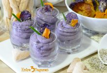 Photo of Mousse de Patatas Violetas con Foie Gras