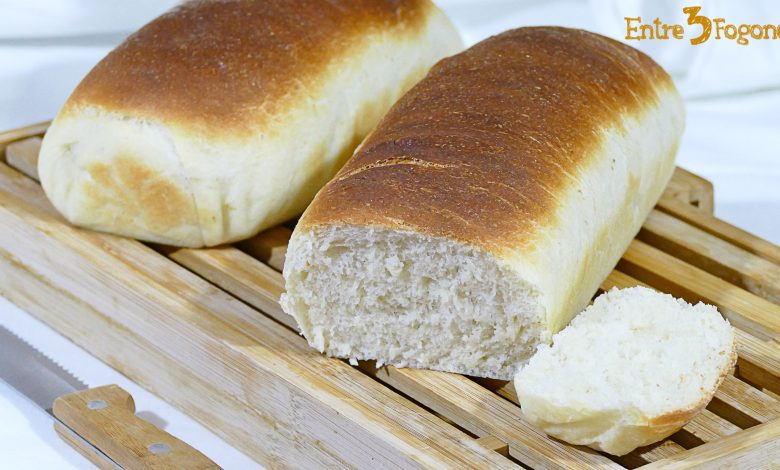 Pan de Molde Blanco Casero y Tierno