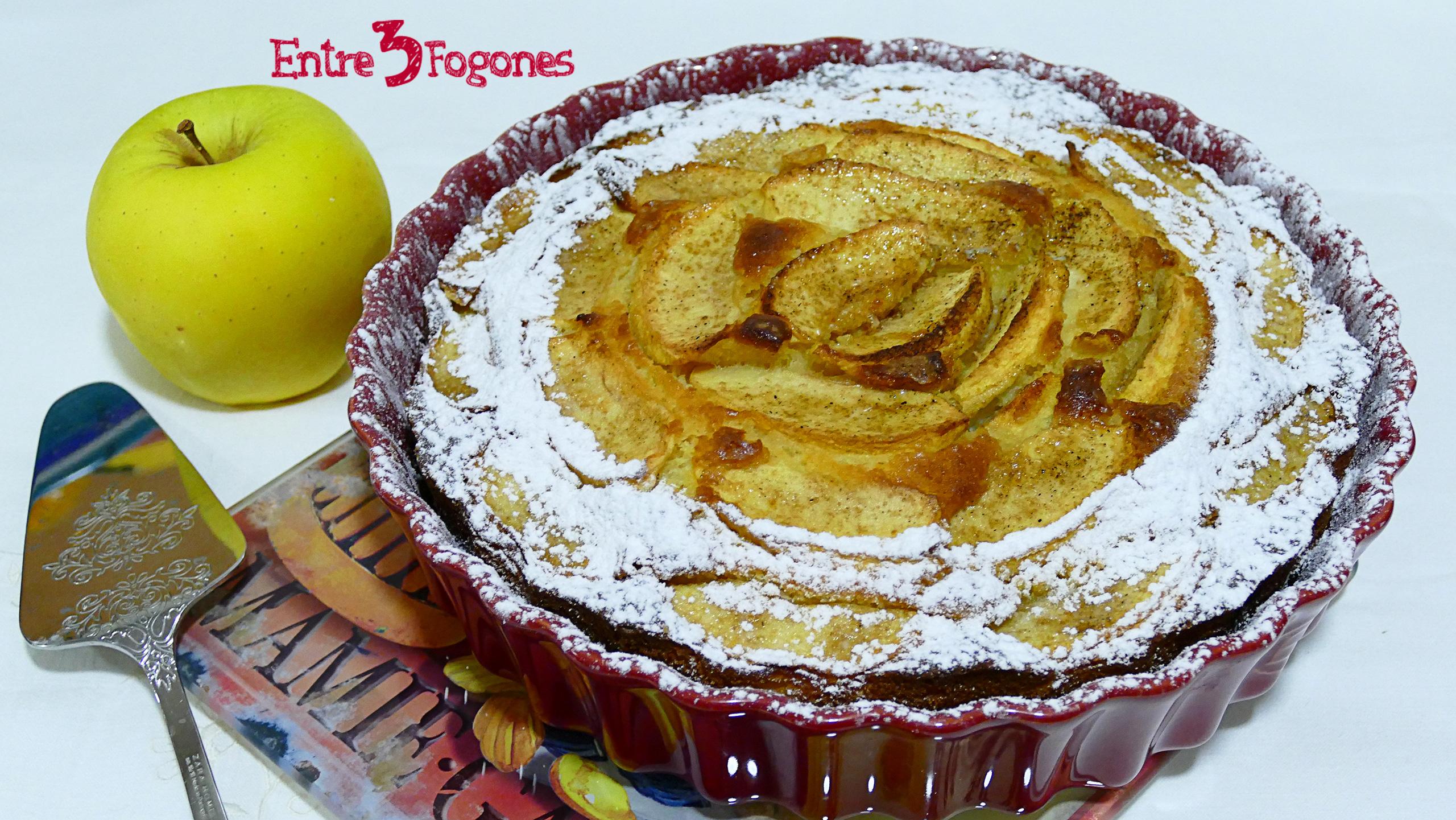 Bizcocho de Manzana y Mascarpone CookExpert