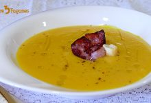 Photo of Crema de Calabaza al Curry con Crujiente de Bacon