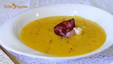 Photo of Crema de Calabaza al Curry con Crujiente de Bacon