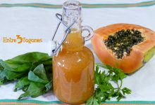 Photo of Jugo de Papaya y Canónigos con Albahaca