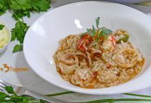 Photo of Arroz con Calamares y Gambas