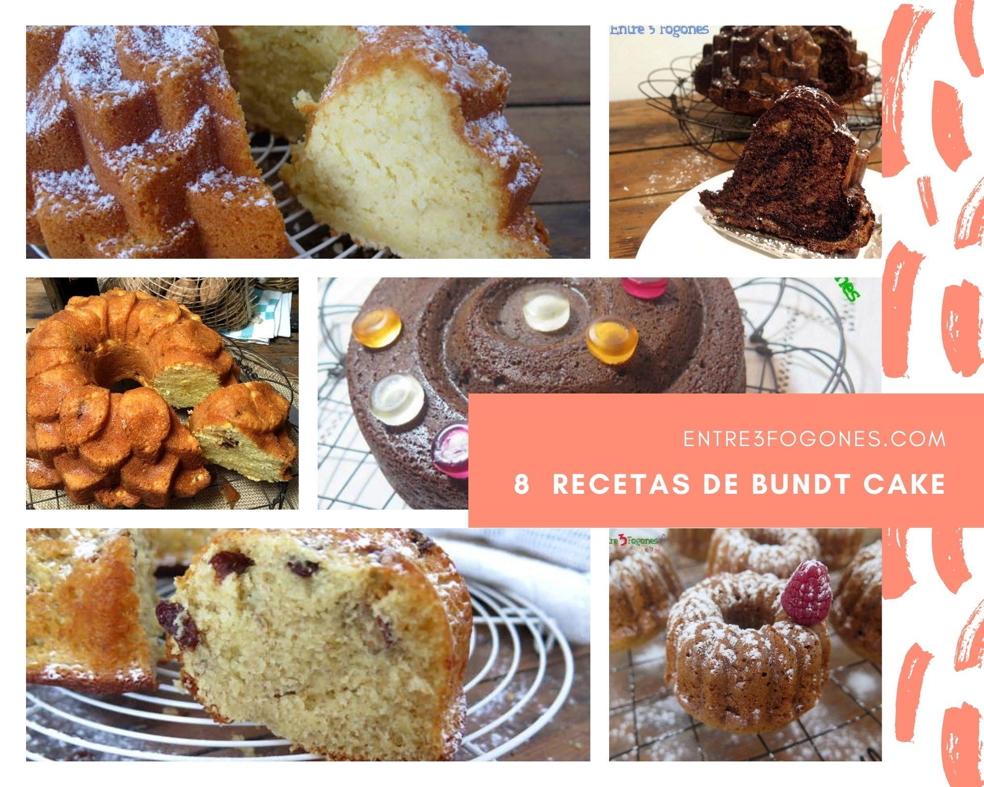 8 Deliciosas Recetas de Bundt Cake