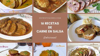 Photo of 16 Recetas de Carne en Salsa