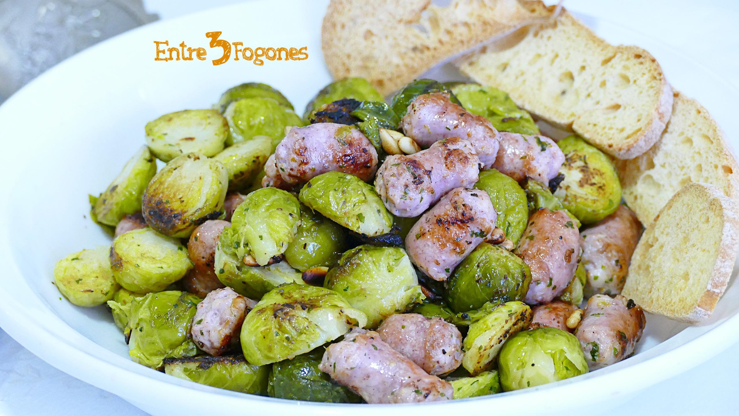 Coles de Bruselas al Vapor Cook Expert Magimix