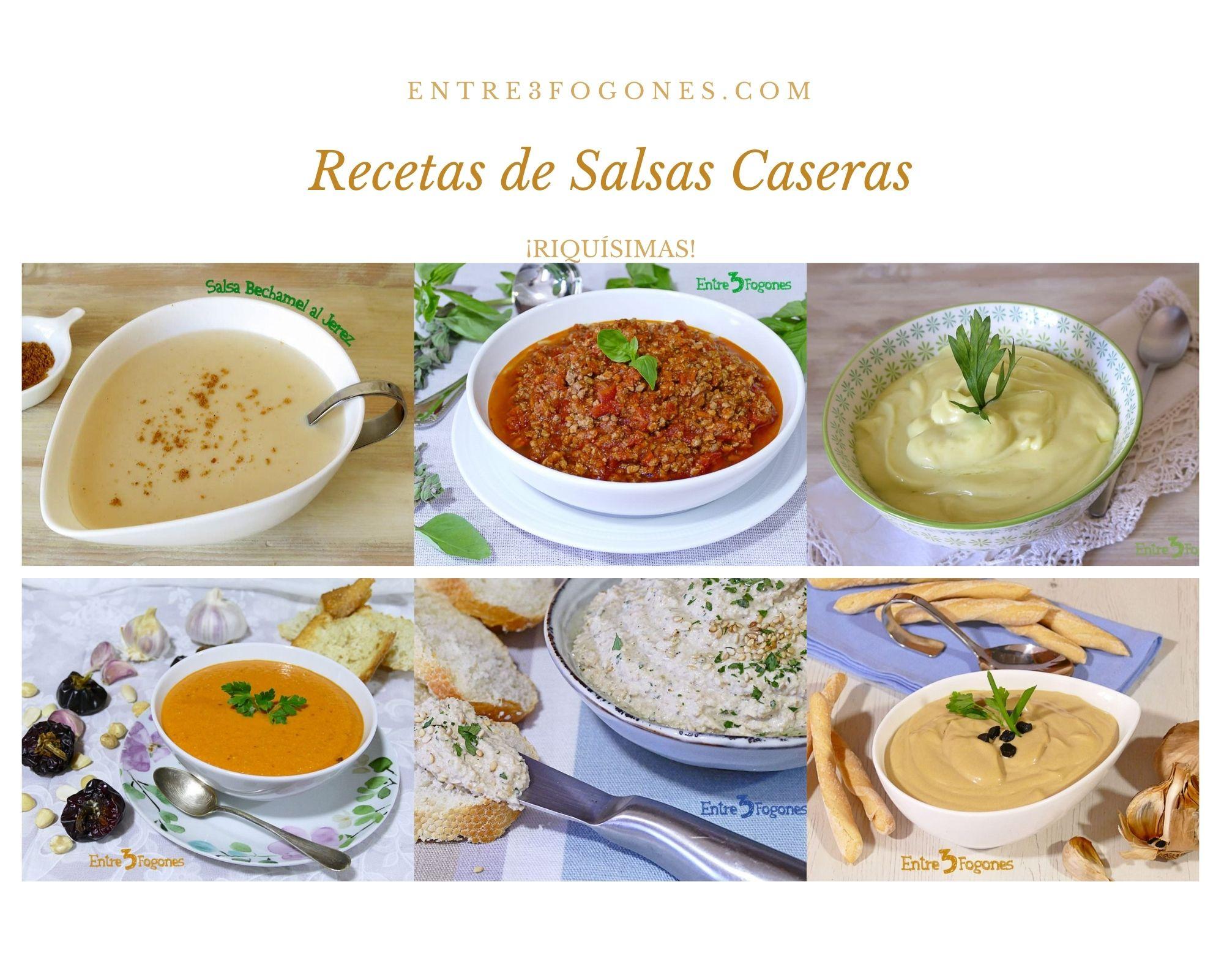 Recetas de Salsa Casera