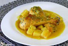 Guiso de Pollo con Patatas en Salsa