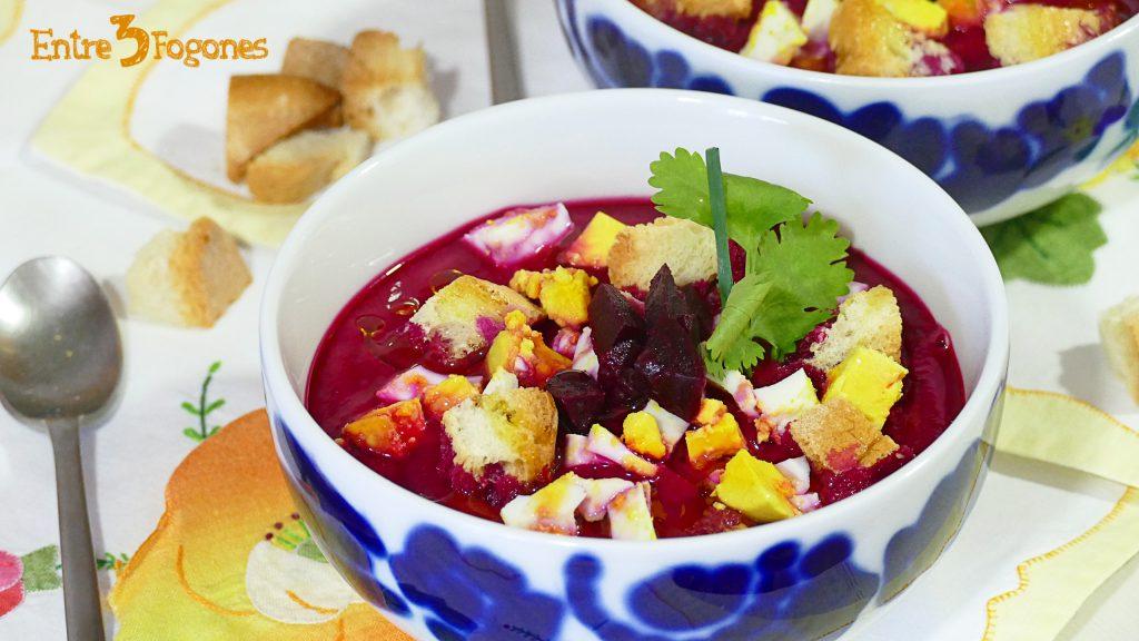 Gazpacho de Remolacha con Cook Expert Magimix