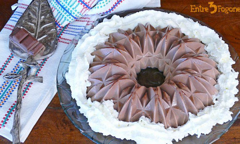 Panacotta de Chocolate con Leche