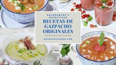 Recetas de Gazpachos Originales