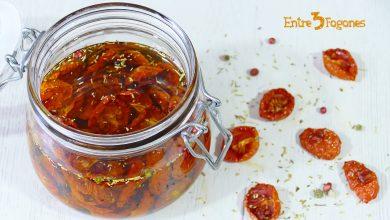 Tomates Cherry Secos en Aceite de Oliva