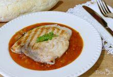 Pez Espada en Salsa de Tomate y Leche de Coco al Curry