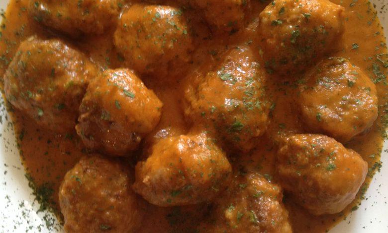 Albóndigas de Cordero en Salsa de Verduras