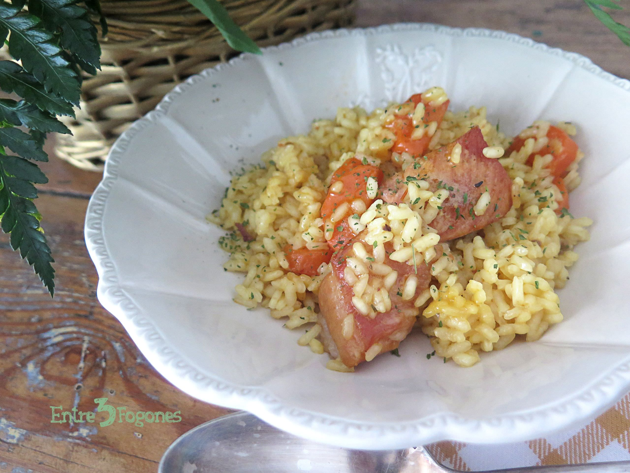Photo of Arroz con Costillas de Cerdo y Zanahorias