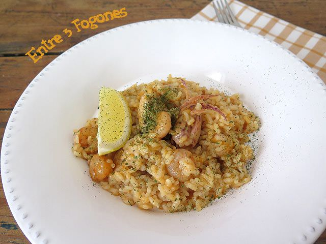 Photo of Arroz con Bonito y Chopitos
