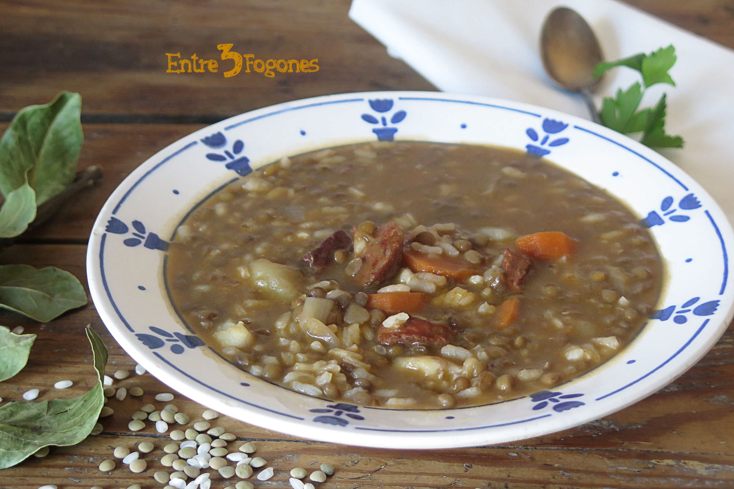 Photo of Arroz con Lentejas