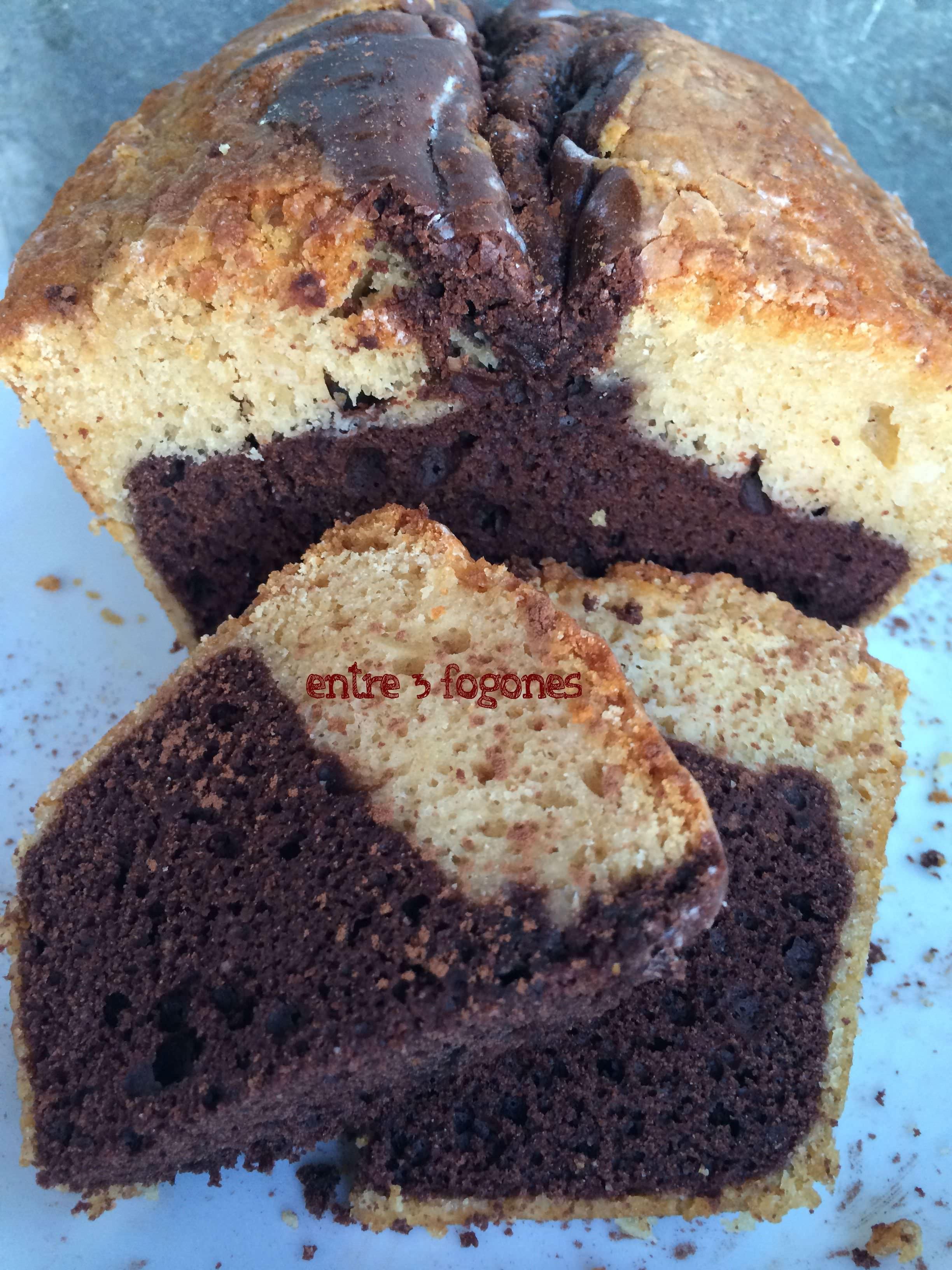Photo of Bizcocho de Nata y Chocolate