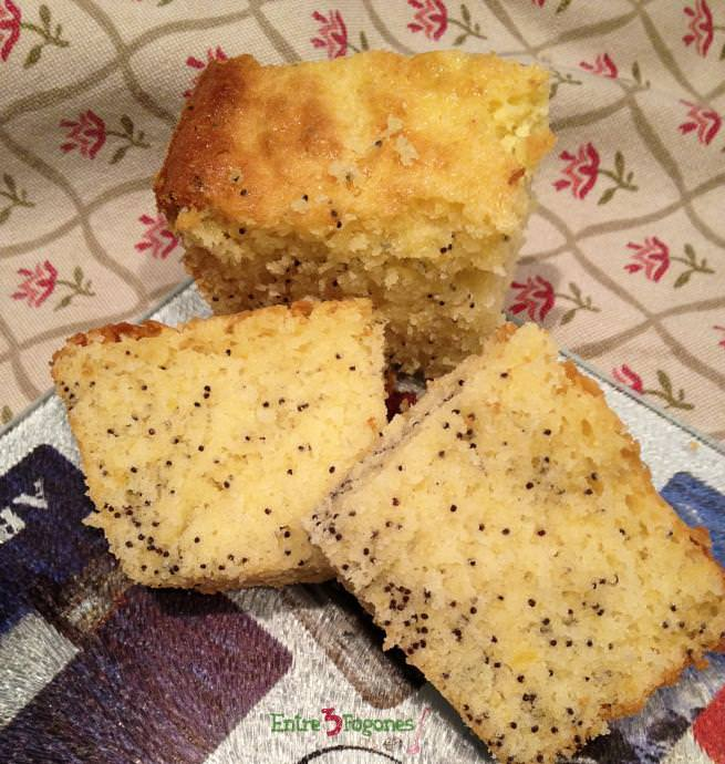 Cake de Limón con Semillas de Amapola