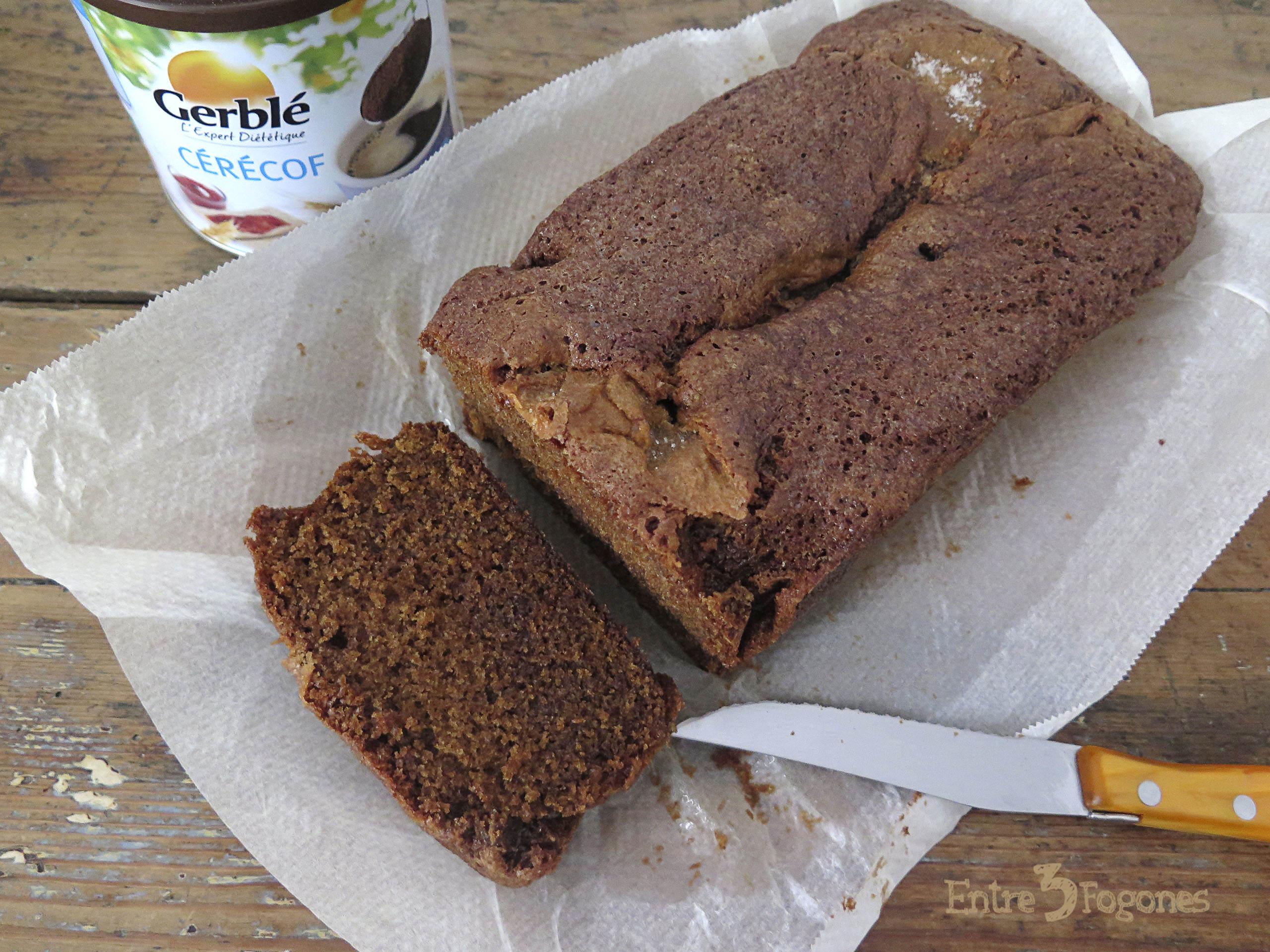 Cake de Praliné y Achicoria
