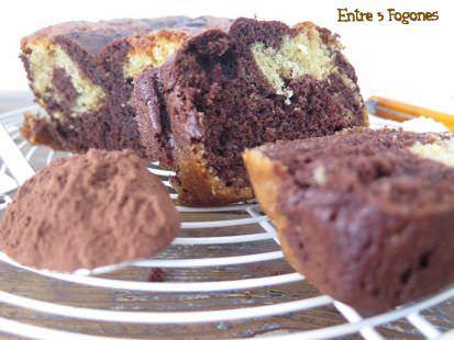 Cake Marmolado de Chocolate y Vainilla