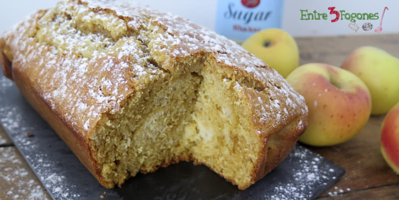 Cake Marmolado de Manzana y Toffee
