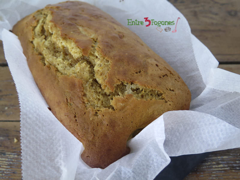 Pasos Cake Manzana y Toffee con Crema Inglesa