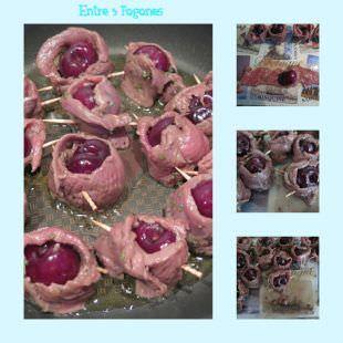 Pasos Rollitos de Cereza con Magret de Pato