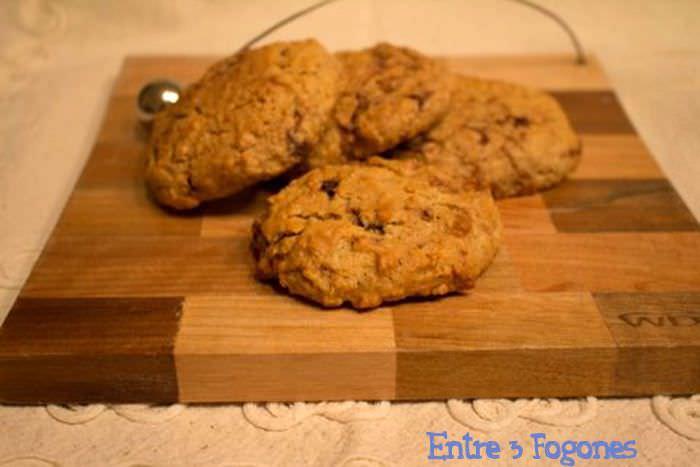Cookies de Avena con Pepitas de Chocolate