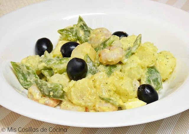 Ensalada de Judías Verdes y Patata