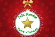 Feliz Navidad desde Entre 3 Fogones