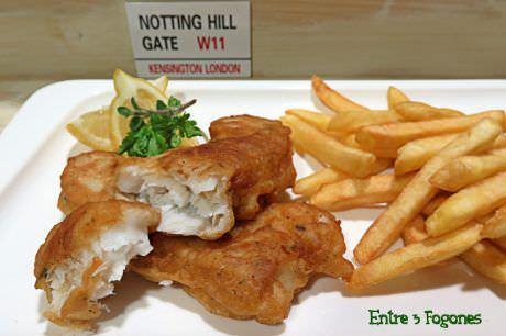Receta Fish and Chips, Receta Británica
