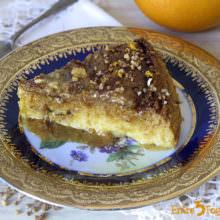 Flan de Leche Condensada con Naranja y Crocanti de Almendras