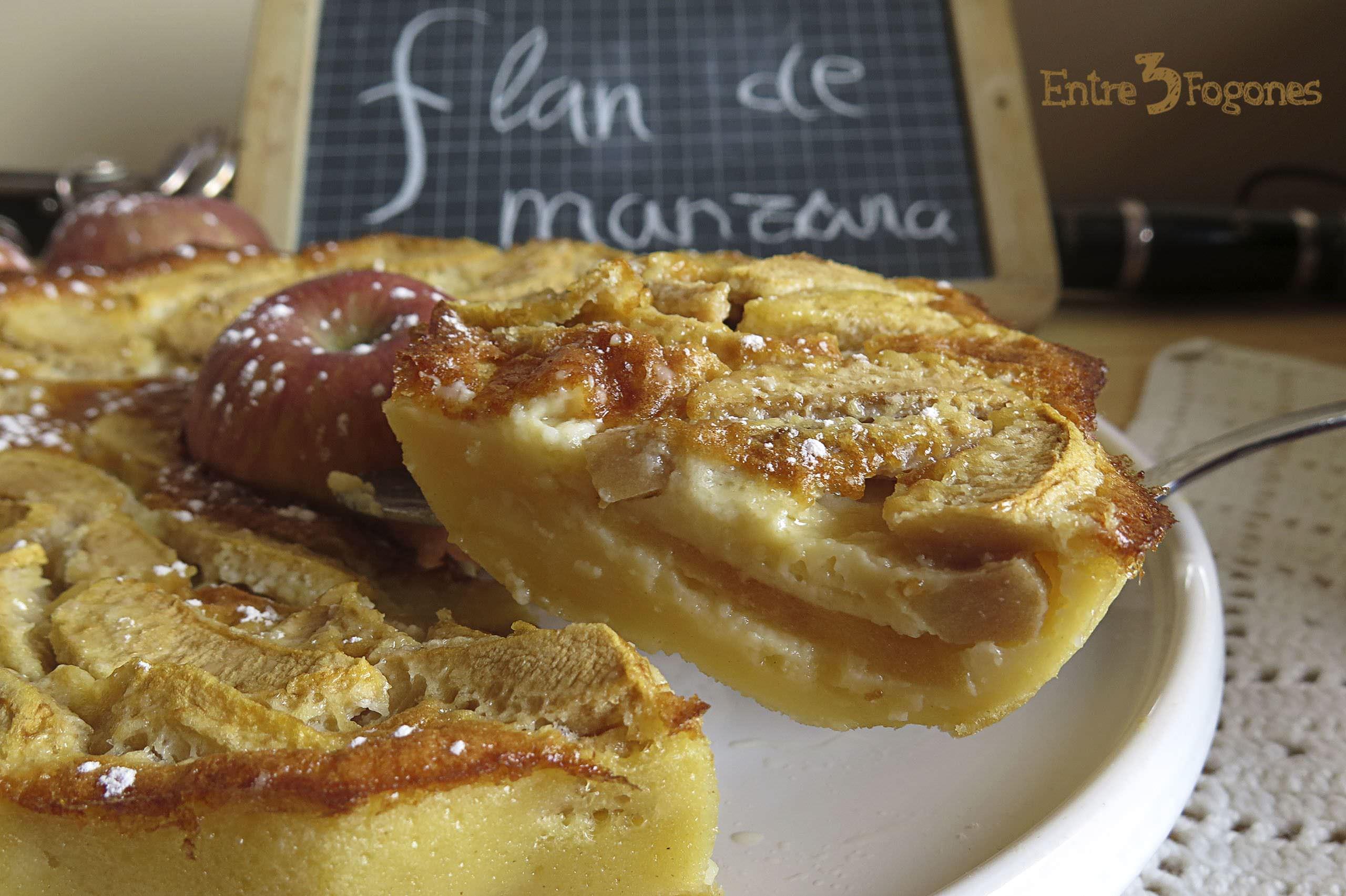 Photo of Flan de Manzanas
