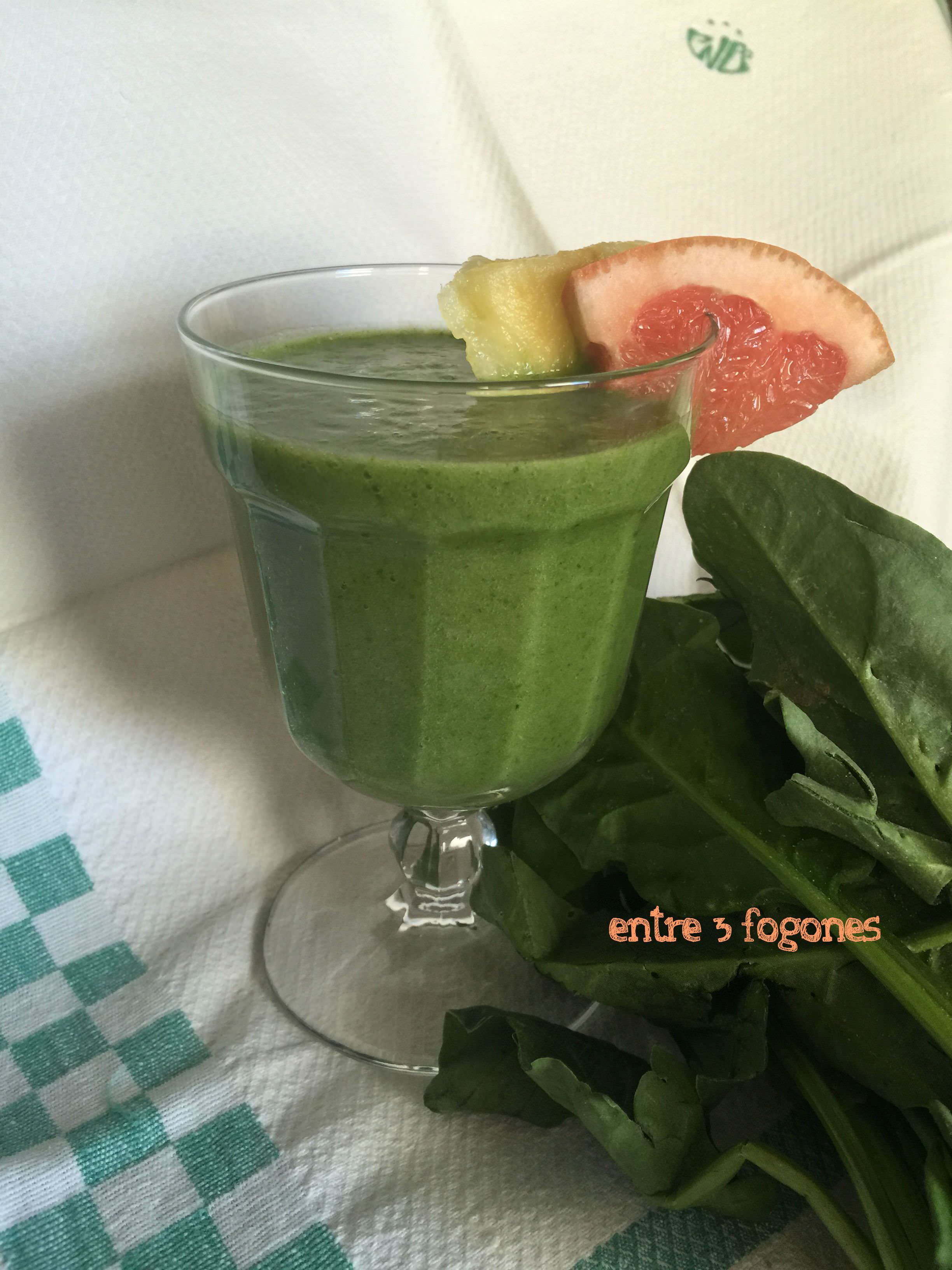 Photo of Smoothie de Espinacas y Pomelo