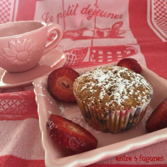 Muffins de Fresones