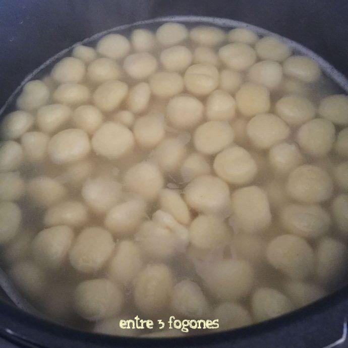Ñoquis de patata con calabaza