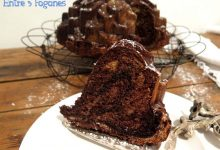 Bundt Cake Cebra con Chocolate