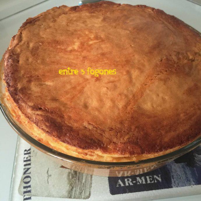 Pastel bretón de manzana