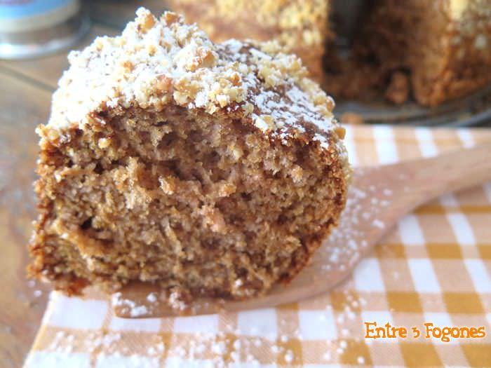 Cake de Fresas con Nueces de Macadamia